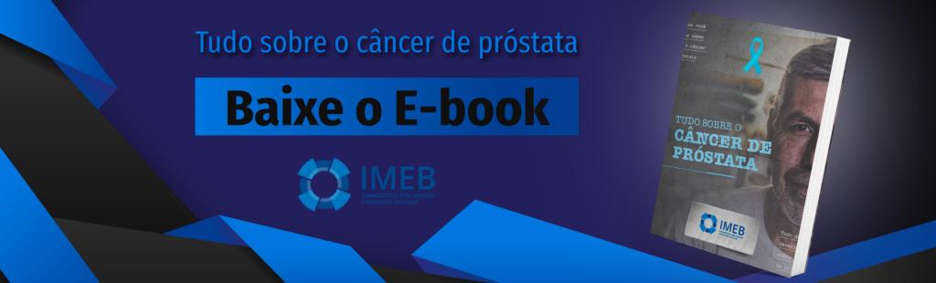 Imagem ilustrativa de E-book sobre câncer de próstata