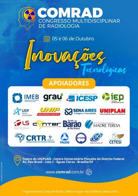 Convite ao COMRAD – Congresso Multidisciplinar de Radiologia
