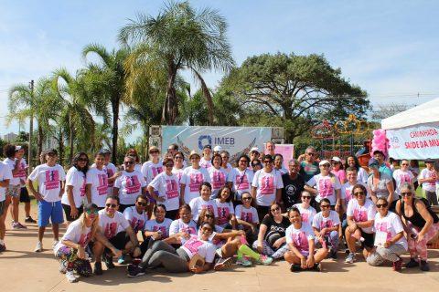 Caminhada Saúde da Mulher oferecerá serviços gratuitos para as mulheres da região de Ceilândia e Taguatinga